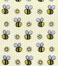 Snuggle Flannel Fabric -Happy Sketch Bee