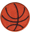 Wrights Iron-On Appliques-Basketball 1-1/2\u0022 1/Pkg