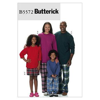 Butterick Pattern B5572 Children's Sleep & Lounge