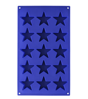 Wilton Stars Silicone Candy Mold