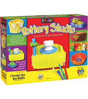 Creativity For Kids Do Art Pottery Studio Kit, , hi-res