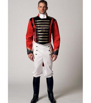 McCall's Pattern M7457 Men's Jacket, Pants & Cravat-Size S-M-L-XL-XXL