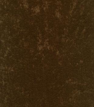 Alova Suede Fabric -Potting Soil