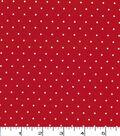 Quilter\u0027s Showcase Cotton Fabric 44\u0022-Red Dot