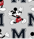 Disney Mickey Mouse Fleece Fabric 59\u0022-Toss
