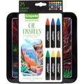 Crayola Signature Oil Pastels with Tin 24pk