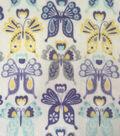 Ultra Fluffy Fleece Fabric -Sophie Butterfly