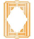 Ultimate Crafts The Ritz 3.2\u0027\u0027x4.6\u0027\u0027 Hotfoil Stamp-Framed Columns