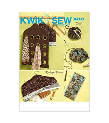 Kwik Sew Travel Accessories-K4147