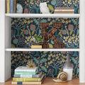 Wallpops Peel & Stick Wallpaper-Groovy Garden Navy