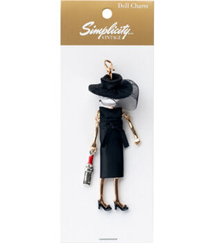 Simplicity Vintage Doll Charm-Grace
