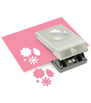 Paper punches paper hole shape punches joann ek success slim paper punch flowers leaves large mightylinksfo