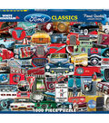 White Mountain Puzzles 1000 Pieces 24\u0027\u0027x30\u0027\u0027 Jigsaw Puzzle-Ford Classics