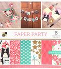 DCWV 36 pk 12\u0027\u0027x12\u0027\u0027 Premium Printed Cardstock Stack-Paper Party