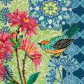 Dimensions Jennifer Brinley 14\u0027\u0027x14\u0027\u0027 Wool Needlepoint Kit-Blue Floral