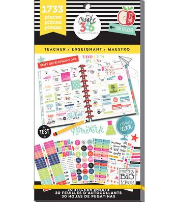 The Happy Planner Sticker Value Pack-Big Teacher