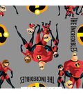 Disney Incredibles 2 Fleece Fabric 59\u0027\u0027-Family