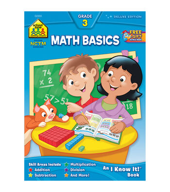 Workbooks-Math Basics 3