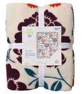 No Sew Fleece Throw 72\u0022-Fresh Fall Floral