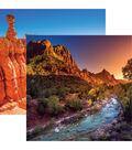 National Parks Double-Sided Cardstock 12\u0022X12\u0022-Zion