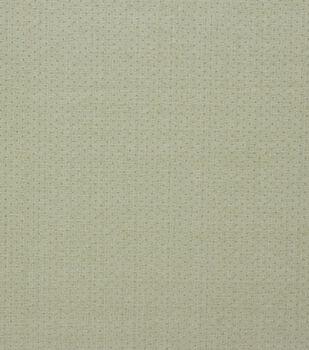 Harvest Cotton Fabric-Green Dots Metallic