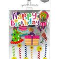 Park Lane Paperie 24 pk Stickers-Happy Birthday