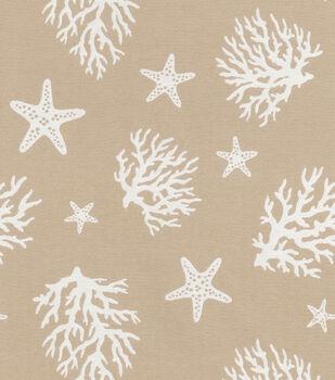 "Waverly Upholstery Fabric 55""-Sea Dance Jute"