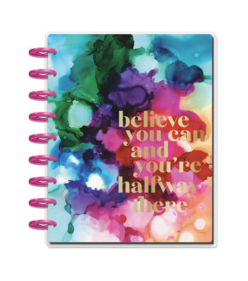 The Happy Planner 18 Month Planner-Paint Splash