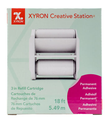 Xyron Creative Station Permanent Adhesive Refill 3""