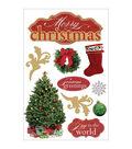 Paper House 3D Sticker-Merry Christmas