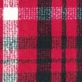 Anti-Pill Plush Fabric-Lauren Red, Black & Cream Plaid