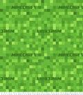 Minecraft Fleece Fabric-Pixel