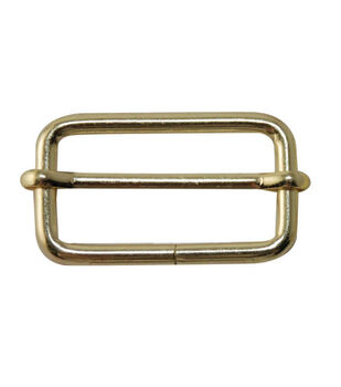 """Everything Mary Gold 1.5"""" Rectangle Buckles-2pk"""