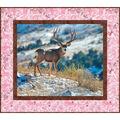 Quilt Kit-Kings Camo Mule Deer Pink  by Riley Blake