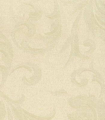"""Signature Series Solid Jacquard Fabric 54""""-Cream"""