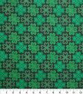 St. Patrick\u0027s Day Fabric -Celtic Shamrocks