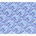 Keepsake Calico Cotton Fabric-Purple Brushstroke Patch