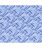 Keepsake Calico Cotton Fabric-Purple Brushstroke Patch, , hi-res