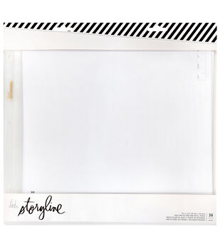 Heidi Swapp Storyline 12''x12'' Page Protectors & Refill Pack