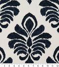 Robert Allen @ Home Lightweight Decor Fabric 55\u0022-Elan Damask Indigo