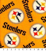 Pittsburgh Steelers Fleece Fabric -Yellow, , hi-res