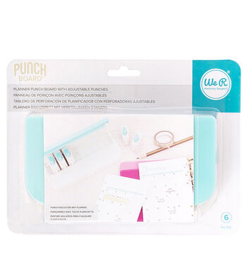 We R Memory Keepers Planner Punch Board with Standard Hole Punches