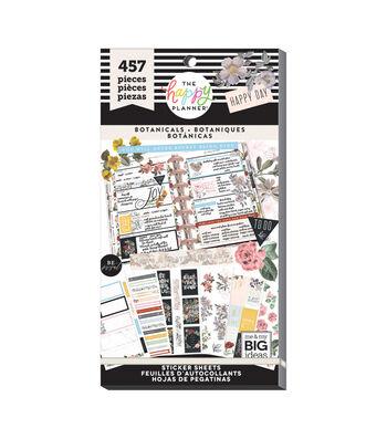 The Happy Planner 457 pk Stickers-Botanicals