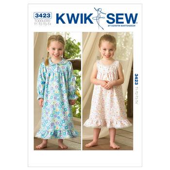 Kwik Sew Toddler Sleep & Lounge-K3423