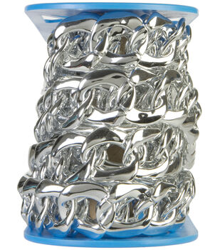 Simplicity Trims-Large Chain Link Silver