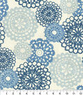 Home Decor 8\u0022x8\u0022 Fabric Swatch-Waverly Rare Jewels Mignight
