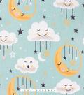 No Sew Fleece Throw Kit 48\u0027\u0027x60\u0027\u0027-Sweet Dreams Little One on Blue