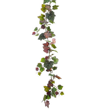 "66"" Grape Ivy Garland with Berry"