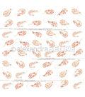 Alexandra Renke Cooking Paper 12\u0022X12\u0022-Shrimps