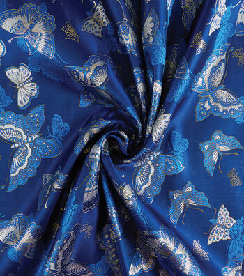 Yaya Han Cosplay Brocade Fabric 58''-Royal Choo Butterfly